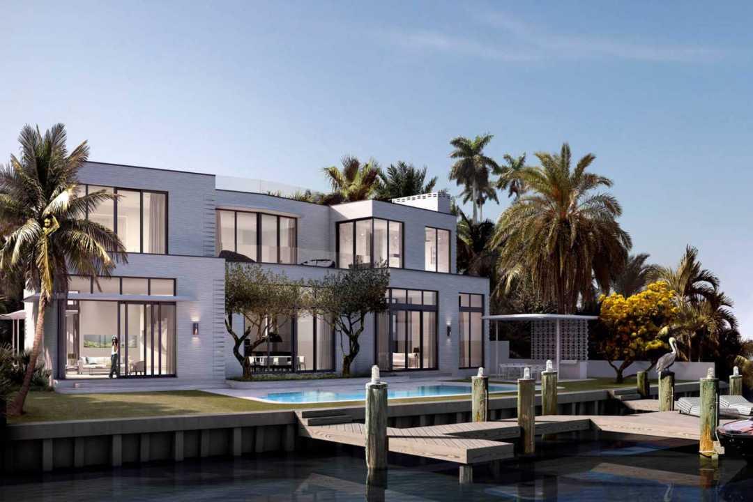 Miami-3D-Render-of-luxury-beach-house