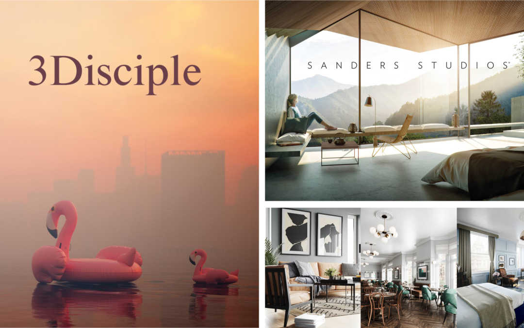 3Disciple Magazine Publication for Sanders Studios