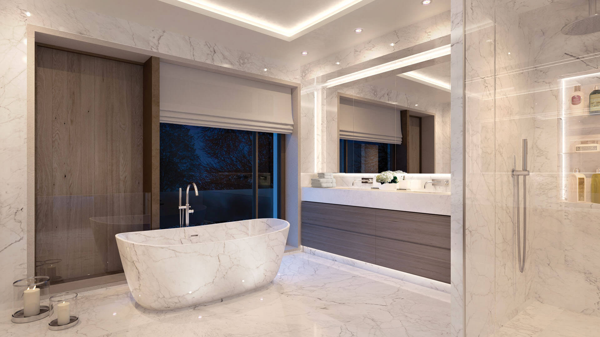 dMFK - Redington Gardens - Bathroom Interior CGI