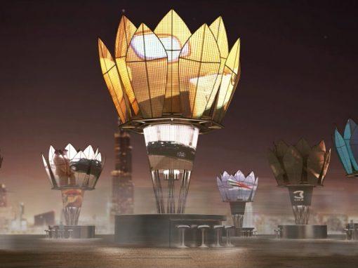 Dubai Solar Kiosks