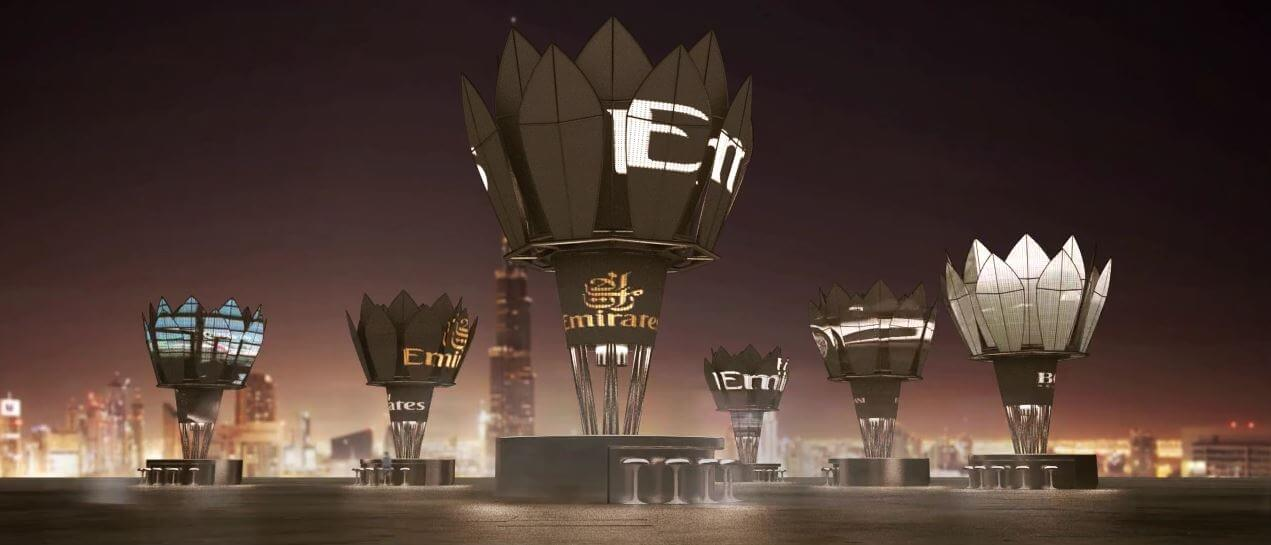 Dubai Solar Kiosks Timelapse Animation