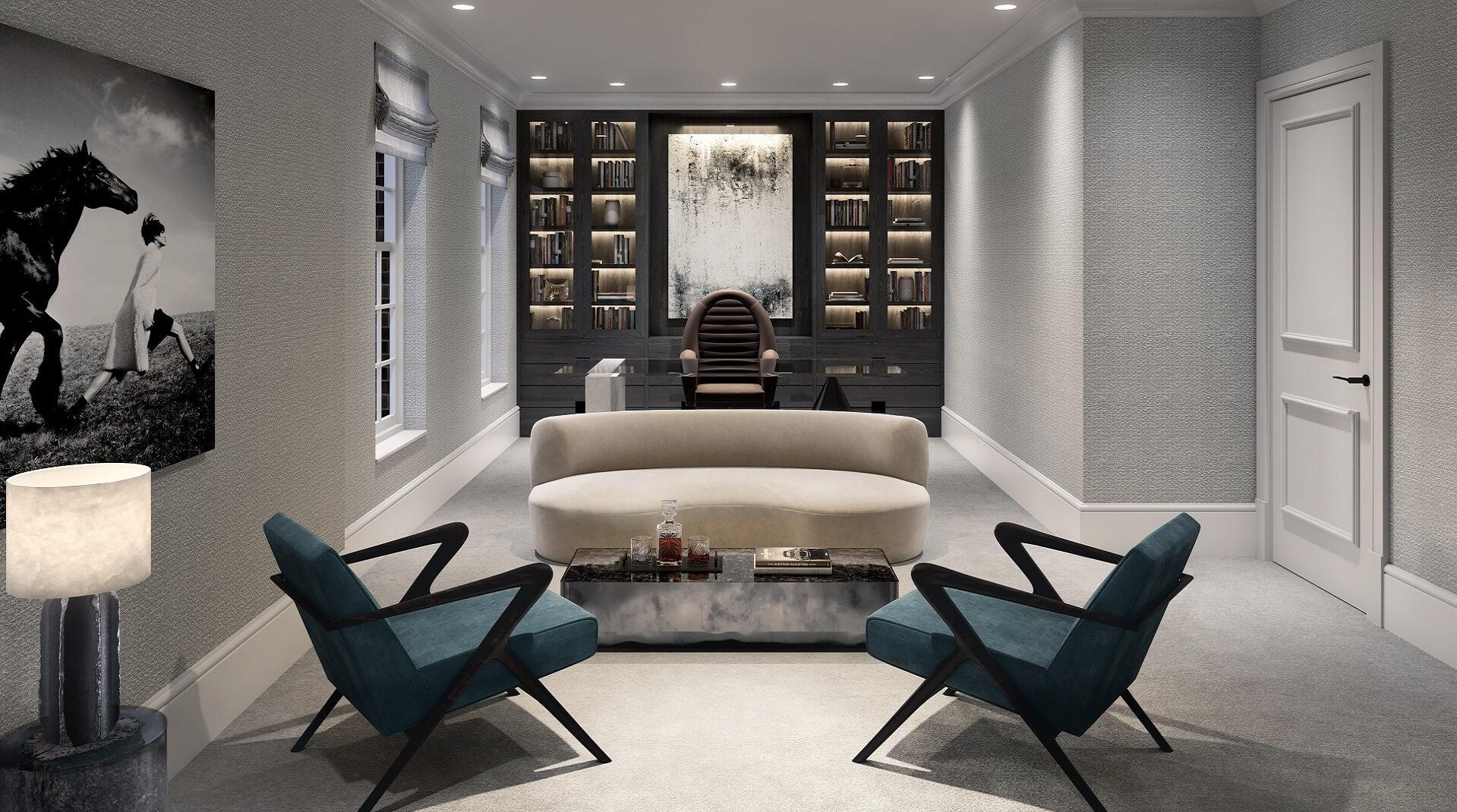 Sanders Studios_Fusion_The Radlett_Study Interior CGI web