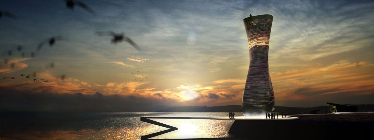 Mersey Observation Tower | An illustrative competition piece for DMA