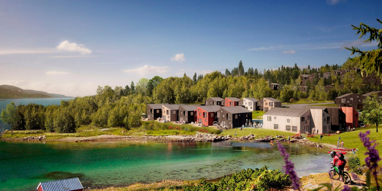 Averøy | Beautiful, iconic Scandinavian residential design in Norway