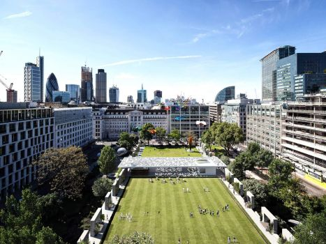 ALPHABETA | Creative spatial reconfiguration in Finsbury Square