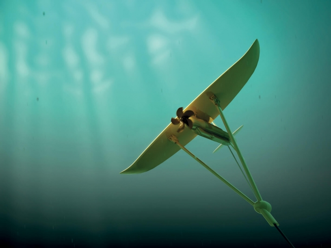 'Deep Green' by Minesto | Marketing illustrations and animations for a pioneering subsea renewable energy product