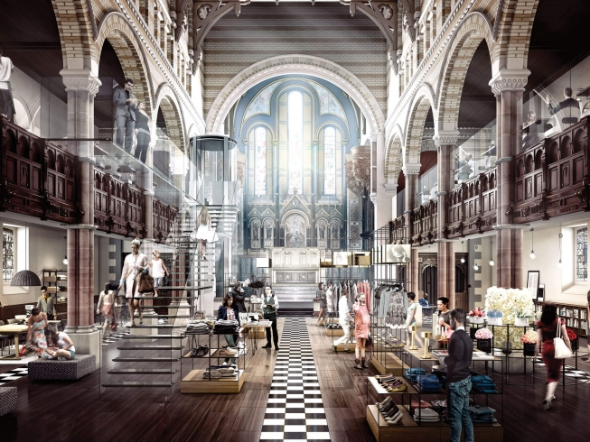 One Mayfair Church | Communicating the elegant restoration of a Grade I-listed building in the heart of London