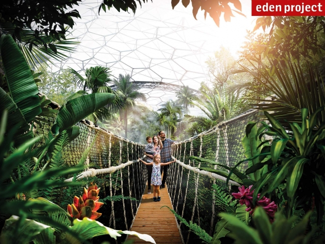 The Canopy Walkway | Eden Project