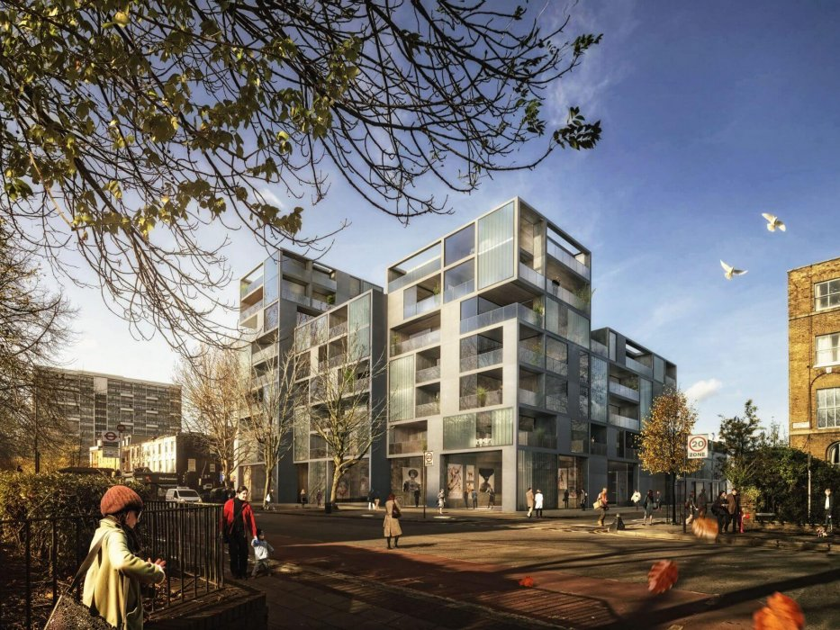 Hackney Road | Bringing Sheppard Robson's central London proposal to life